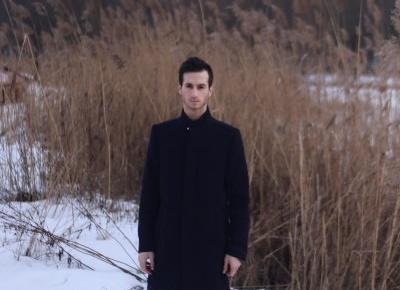 Prosty męski płaszcz | Blog kosmetyczny, beauty, moda, makijaże