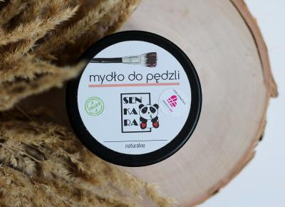 Senkara naturalne mydło do mycia pędzli | Blog kosmetyczny, beauty, moda, makijaże