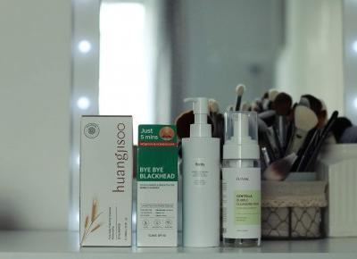 Koreańskie oczyszczanie twarzy, test żeli i pianek do mycia twarzy