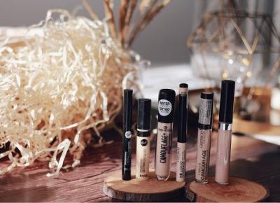 Najlepsze korektory drogeryjne kryjące i rozświetlające | Blog kosmetyczny, beauty, moda, makijaże