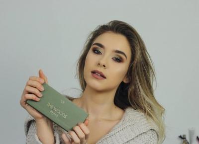 Makijaż paletą The Woods + najgorsza pomada | Blog kosmetyczny, beauty, moda, makijaże