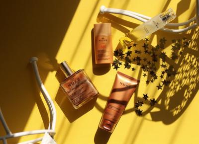 Nuxe perfumy w których się zakochasz i świetny samoopalacz | Blog kosmetyczny, beauty, moda, makijaże