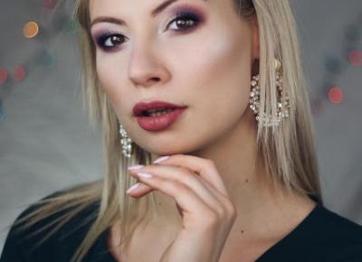 Makijaż w fioletach | Blog kosmetyczny, beauty, moda, makijaże