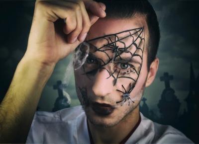 Szybki łatwy makijaż na Halloween last minute | Blog kosmetyczny, beauty, moda, makijaże
