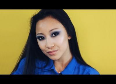 Makijaż w kolorze roku Classic Blue