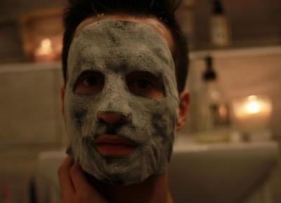 Unitouch bąbelkujące maski do twarzy Bad Boy | Blog kosmetyczny, beauty, moda, makijaże