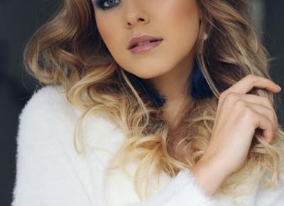Zimny makijaż w środku jesieni | Blog kosmetyczny, beauty, moda, makijaże