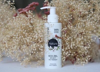Lirene Natura Eco żel myjący do twarzy | Blog kosmetyczny, beauty, moda, makijaże