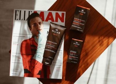 Nuxe Men. Naturalna pielęgnacja dla mężczyzn | Blog kosmetyczny, beauty, moda, makijaże