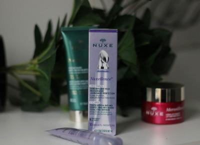 Nuxe Nuxellence krem pod oczy | Blog kosmetyczny, beauty, moda, makijaże