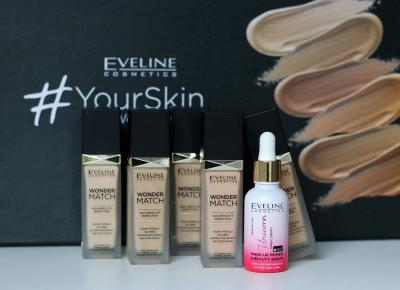 Eveline Cosmetics Wonder Match  | Blog kosmetyczny, beauty, moda, makijaże