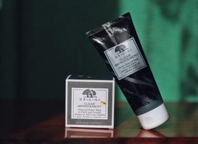 Origins Improvement Charcoal Honey Mask | Blog kosmetyczny, beauty, moda, makijaże