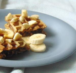 Write by Maja Depp: BLOGMAS#3 - BANANA WAFFLES