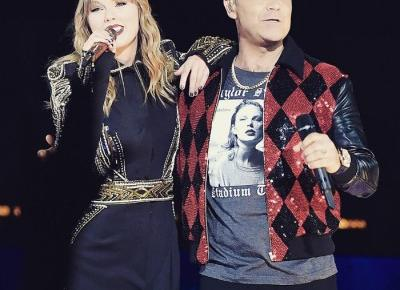Taylor Swift i Robbie Williams razem na scenie | MusicLovers.pl