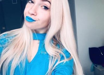 Blue lips ❄️
