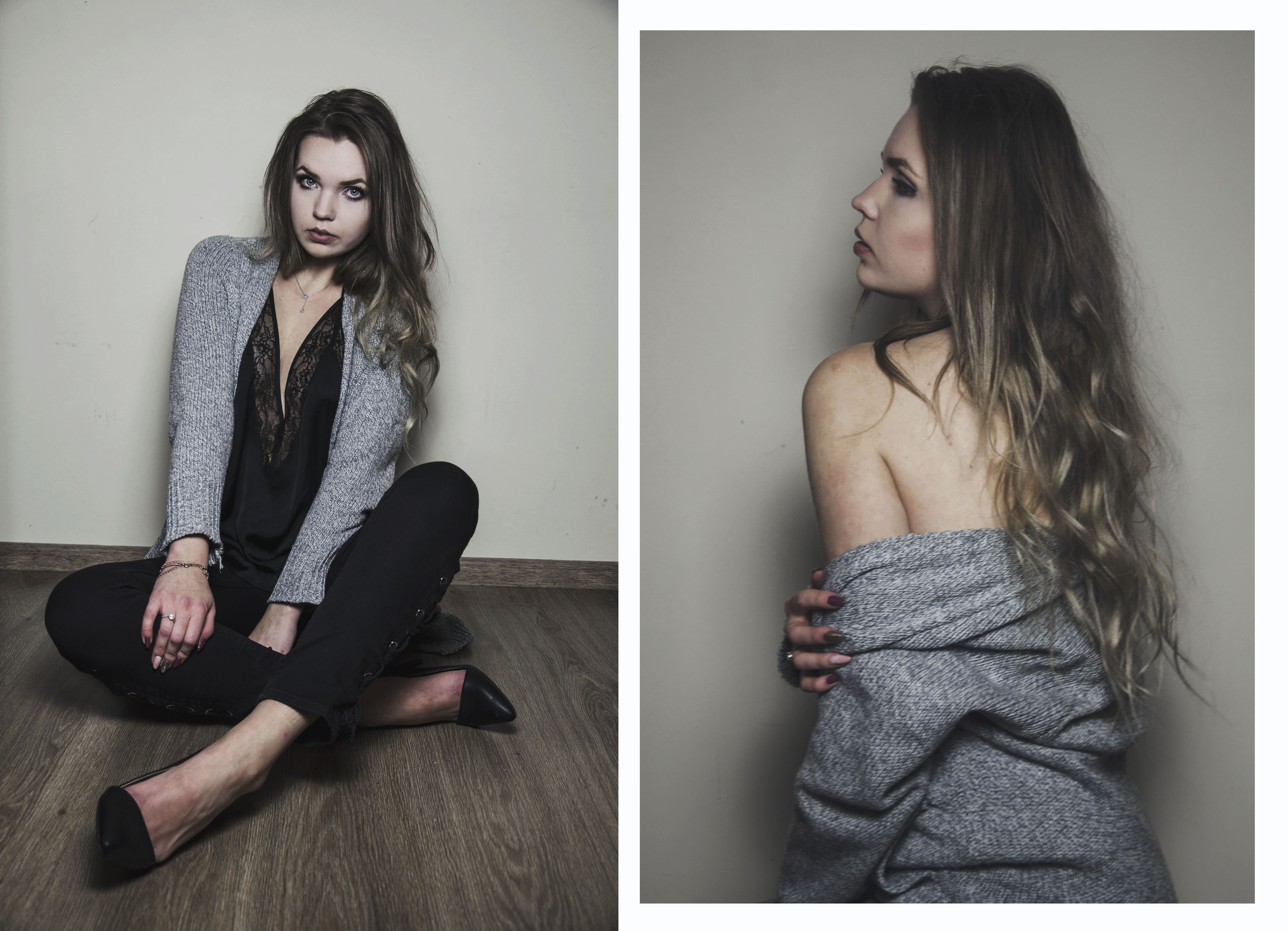 The world is my runway.: Sweater & skirt Zaful
