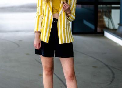 The world is my runway.: I love yellow!