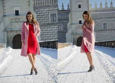 The world is my runway.: Red dress
