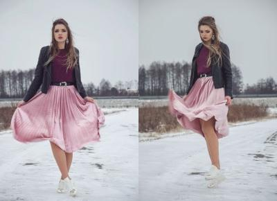 The world is my runway.: Velvet midi skirt Gamiss