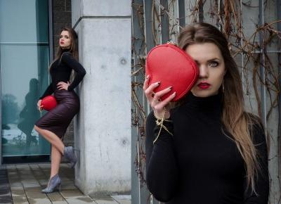 The world is my runway.: Valentines outfit.