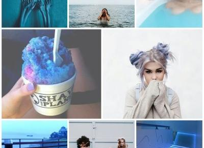 One color of inspiration - blue