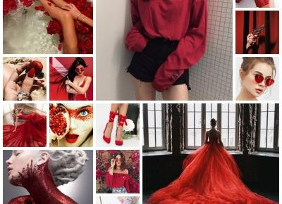 Colorful inspirations - red