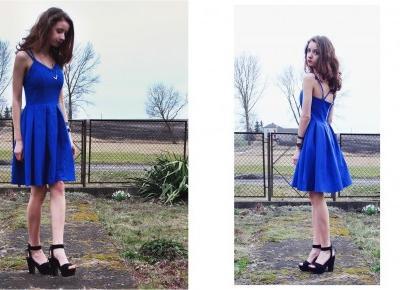 Sukienka od Zaful  - Blog Maddy