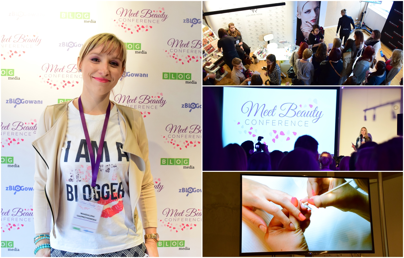 Mademoiselle Magdalene   285. Konferencja Meet Beauty, czyli 250 blogerów i vlogerów urodowych w jednym miejscu