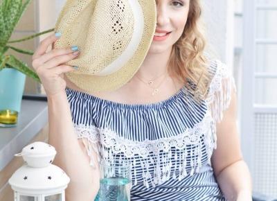 Moje sposoby na radzenie sobie z upałem | Mademoiselle Magdalene Blog: Uroda | Kosmetyki | Makijaż | Moda | Lifestyle
