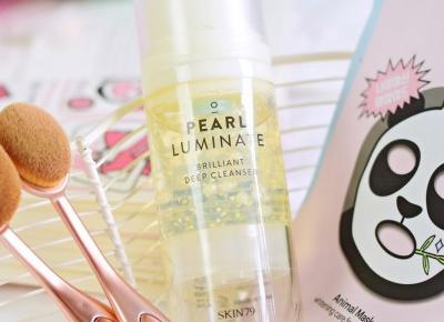 Skin79, Pearl Luminate Brilliant Deep Cleanser | Czemu tak bardzo przypadł mi do gustu?  | Mademoiselle Magdalene Blog: Uroda | Kosmetyki | Makijaż | Moda | Lifestyle