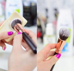 Mademoiselle Magdalene Blog: Uroda | Kosmetyki | Makijaż | Moda | Lifestyle: Jak domyć pędzel do podkładu i pomadki? Niezawodny sposób na usunięcie tłustych zabrudzeń z pędzli!