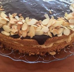 przepis na ciasto z wiórkami kokosowymi i kaszą manną.