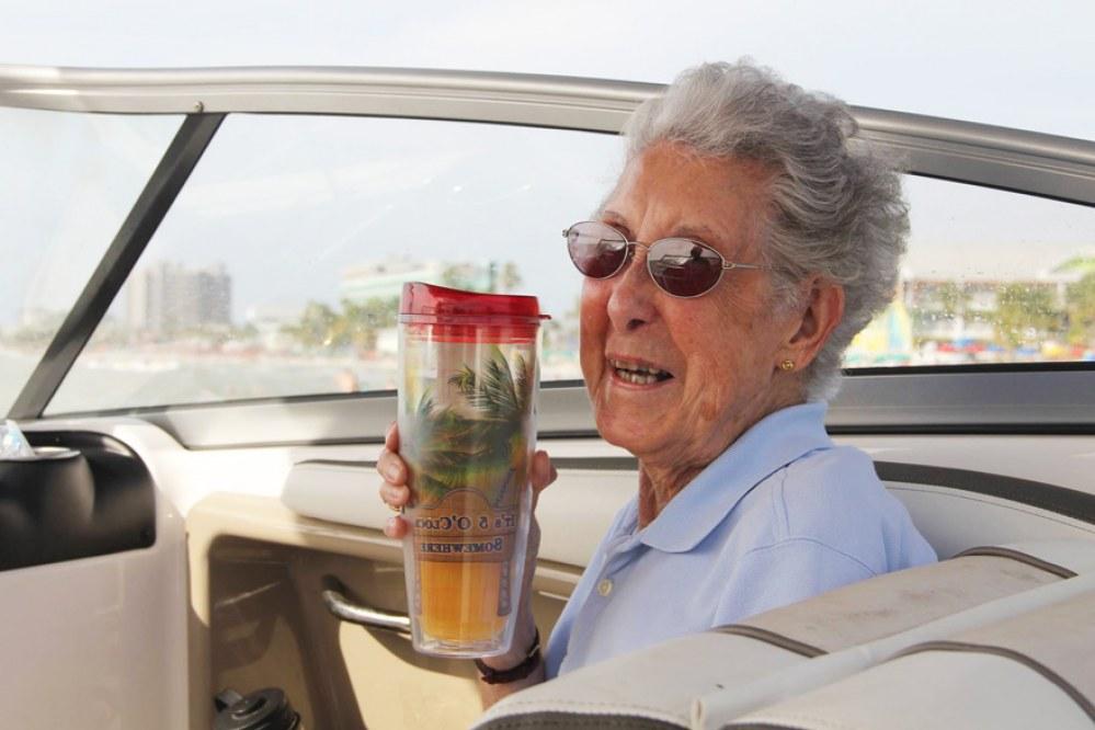Ma 90 lat i raka. Chemioterapię wolała zamienić na podróż życia