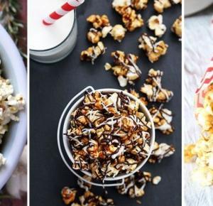 Domowy popcorn - 4 przepisy z KARMELEM i nie tylko