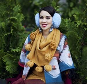 Macademian Girl gotowa na zimę! stylizacja - zimowa kraina inków :)
