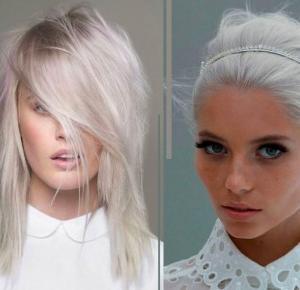 15 zdjęć, które udowadniają, że białe i siwe włosy są supersexy