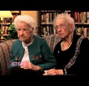 94 letnie przyjaciółki odpowiadają na pytanie czym jest selfie i nie tylko :D