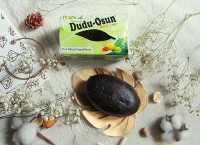 lawendowam lifestyle blog: DUDU-OSUN -czarne mydło, czyli mój idealny sposób na oczyszczanie
