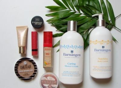ulubione kosmetyki maja:clarins,bourjois,barnangen   lawendowam lifestyle blog