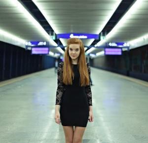 Magdalena Łuniewska Fotografia: railway station