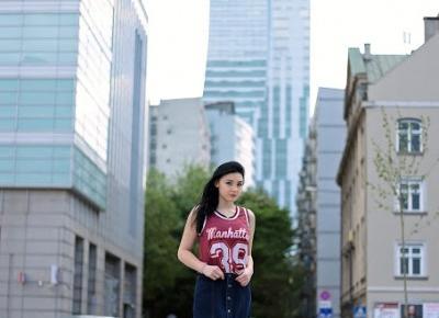 Magdalena Łuniewska Fotografia: Warsaw girl