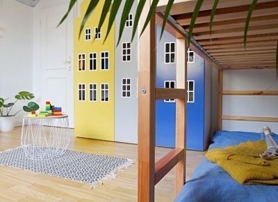 Wnętrza Zewnętrza - blog wnętrzarski: Bajkowy pokój dziecięcy