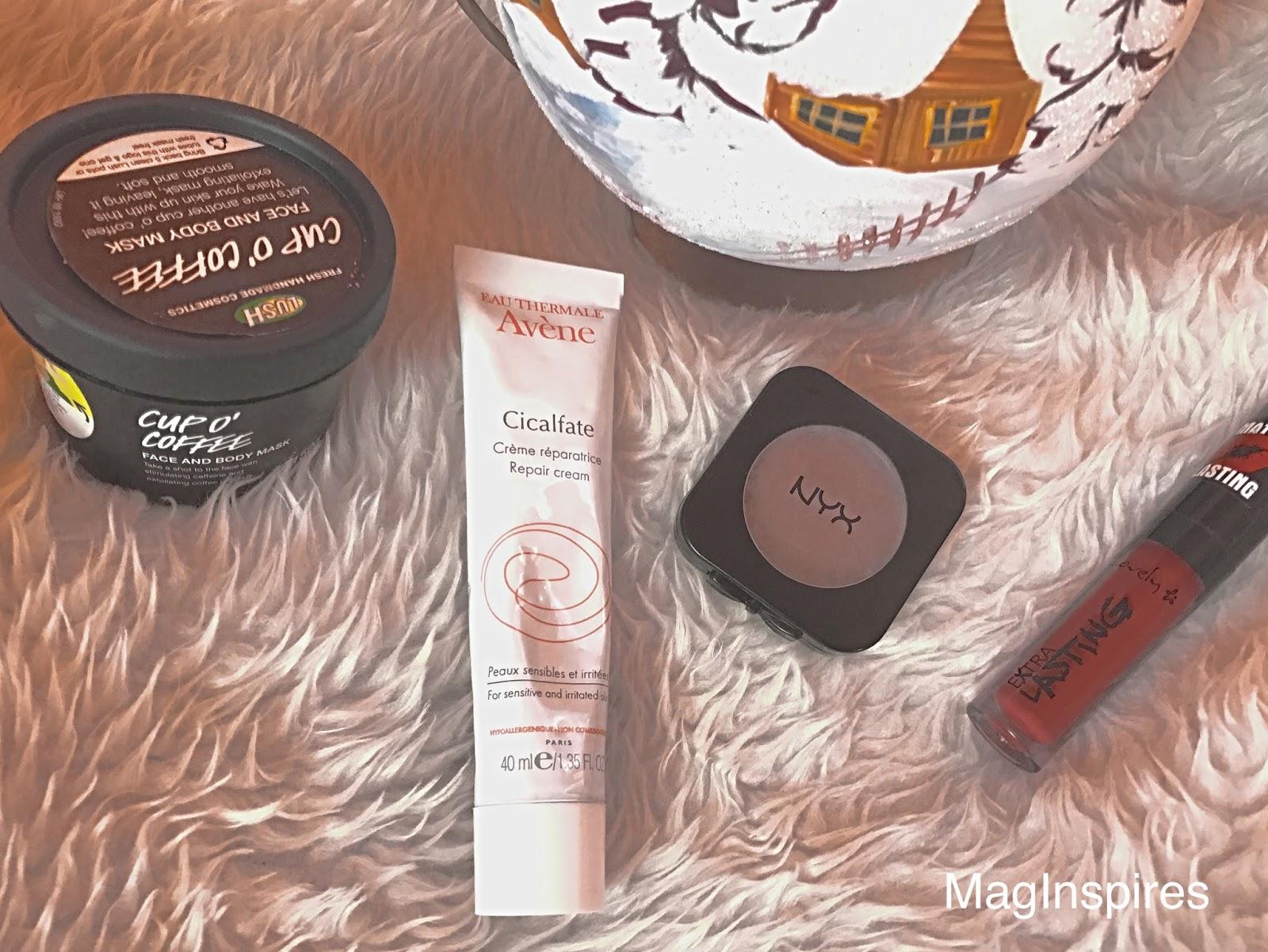Ulubieńcy grudnia 2016 | MagInspires Beauty Blog