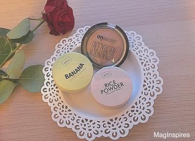 NOWE PUDRY WIBO: BANANOWY & RYŻOWY- Recenzja | MagInspires Beauty Blog