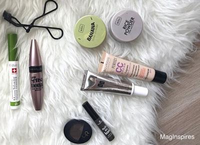 Ulubieńcy kosmetyczni: marzec & kwiecień 2017! Wibo, Inglot, AA, Eveline, Maybelline, Bourjois. | MagInspires Beauty Blog