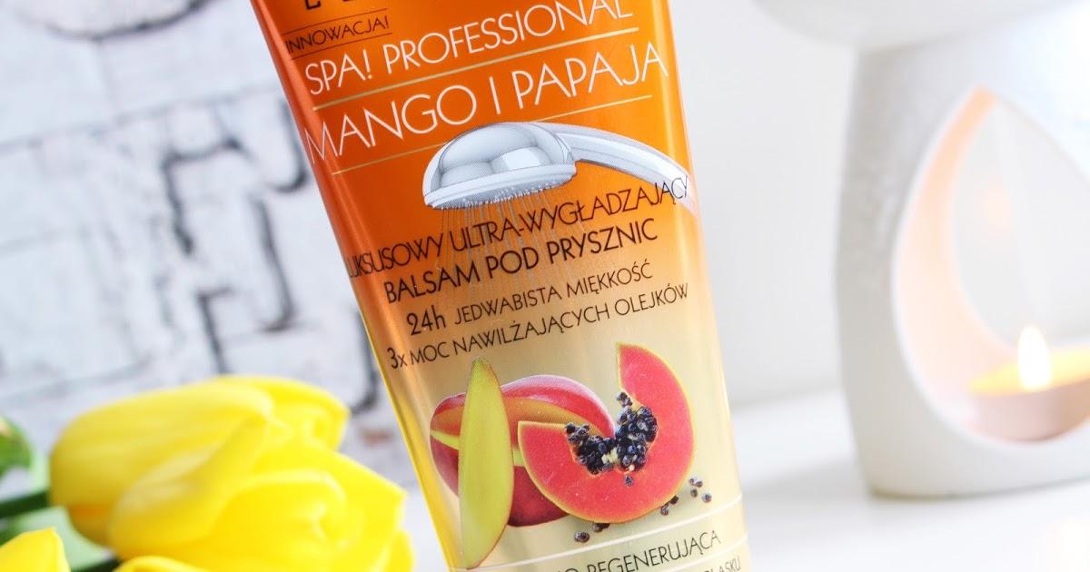 Make life perfect: Eveline ➤ Balsam pod prysznic ➤ Mango i Papaja (analiza składu)
