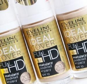 Make life perfect: Eveline | Ideal Cover 202 Pastel, 203 Natural, 204 Nude- porównanie!