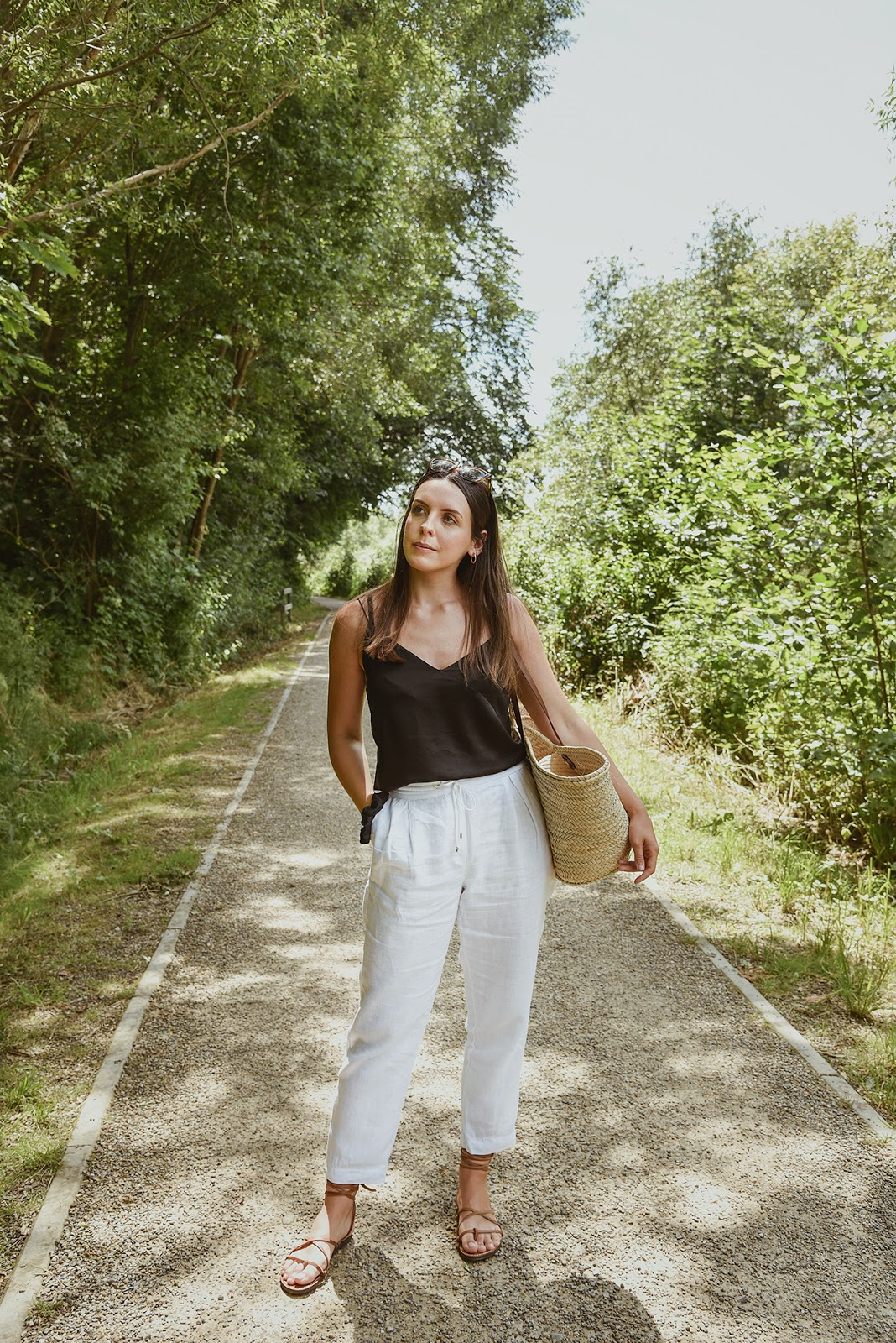 THE LOOK: ONE DAY AT ŻYWIEC LAKE AND MY CASUAL COMBO