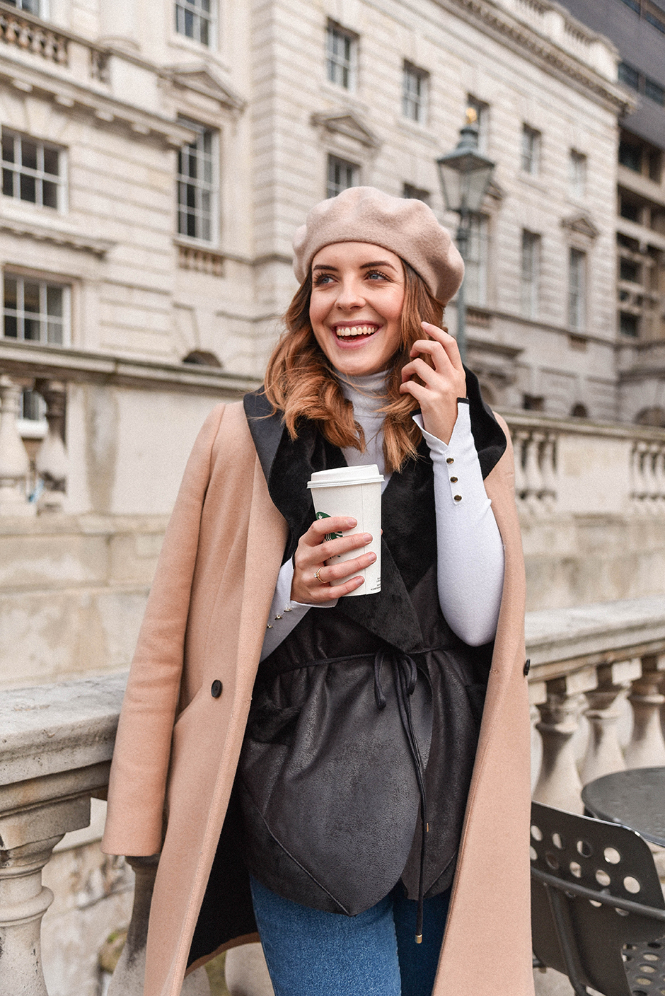 SOMERSET HOUSE AND MY BEIGE COMBINATION - LOOK OF THE DAY | MAKES IT SIMPLE