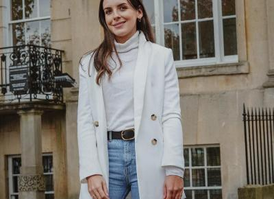 THE LOOK: BECAUSE WHITE IS NOT RESERVED FOR SUMMER ONLY